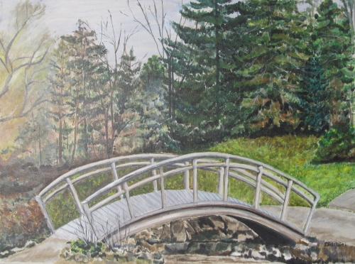 Bridge at Edward Gardens